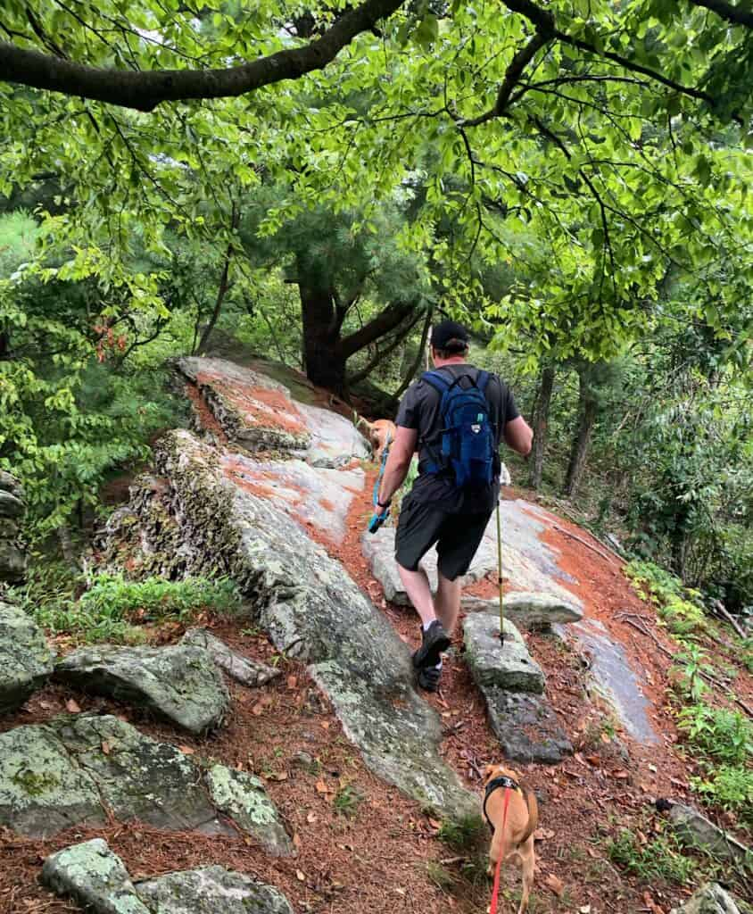 cowans gap state park standing stone trail hike