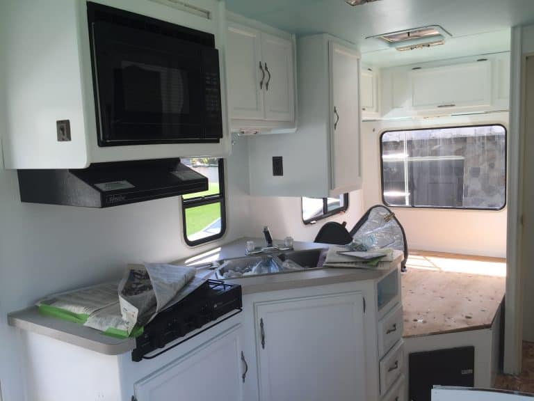 rv cabinets makeover after 1