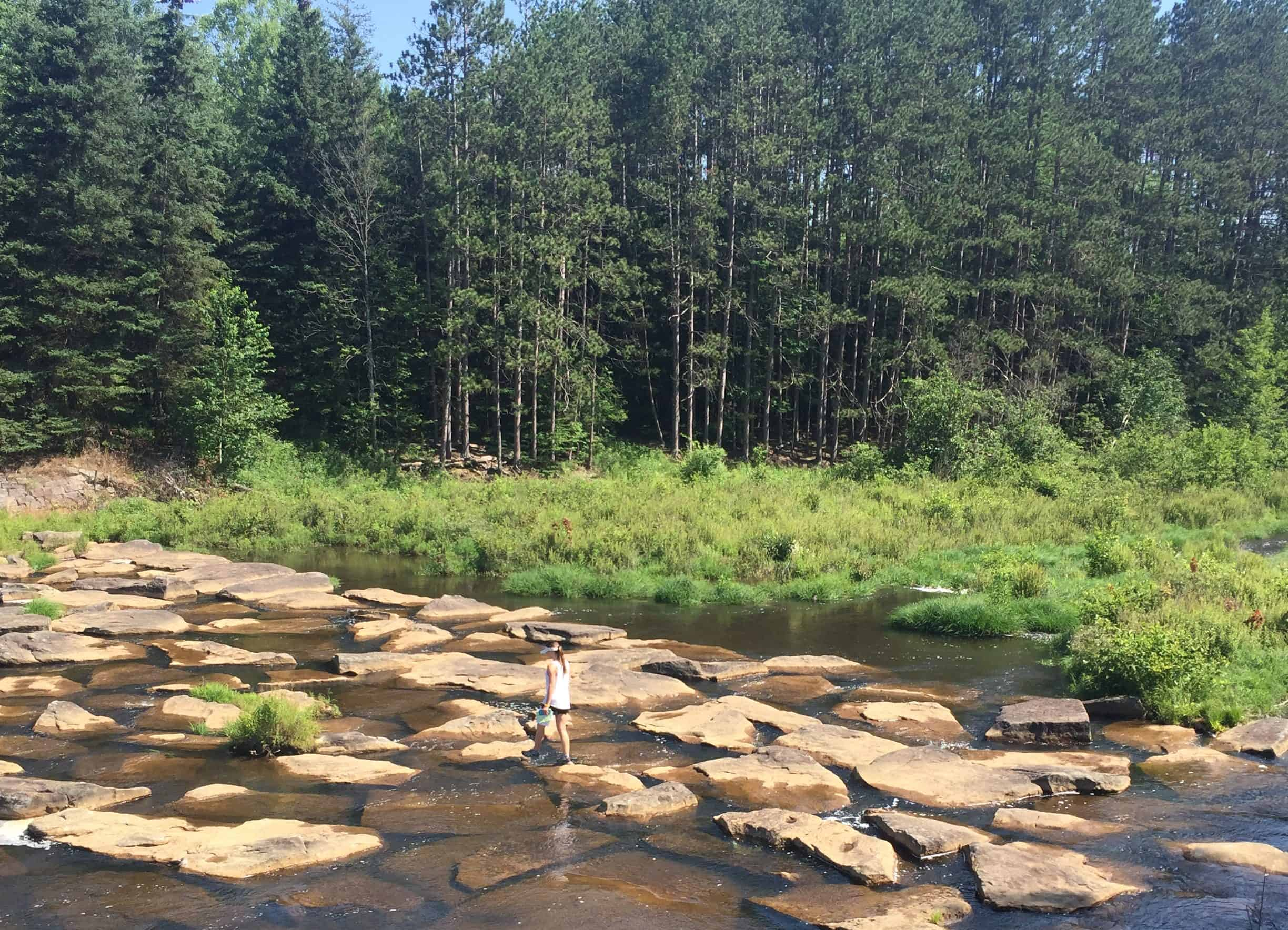 parker dam state park pa stepping stones