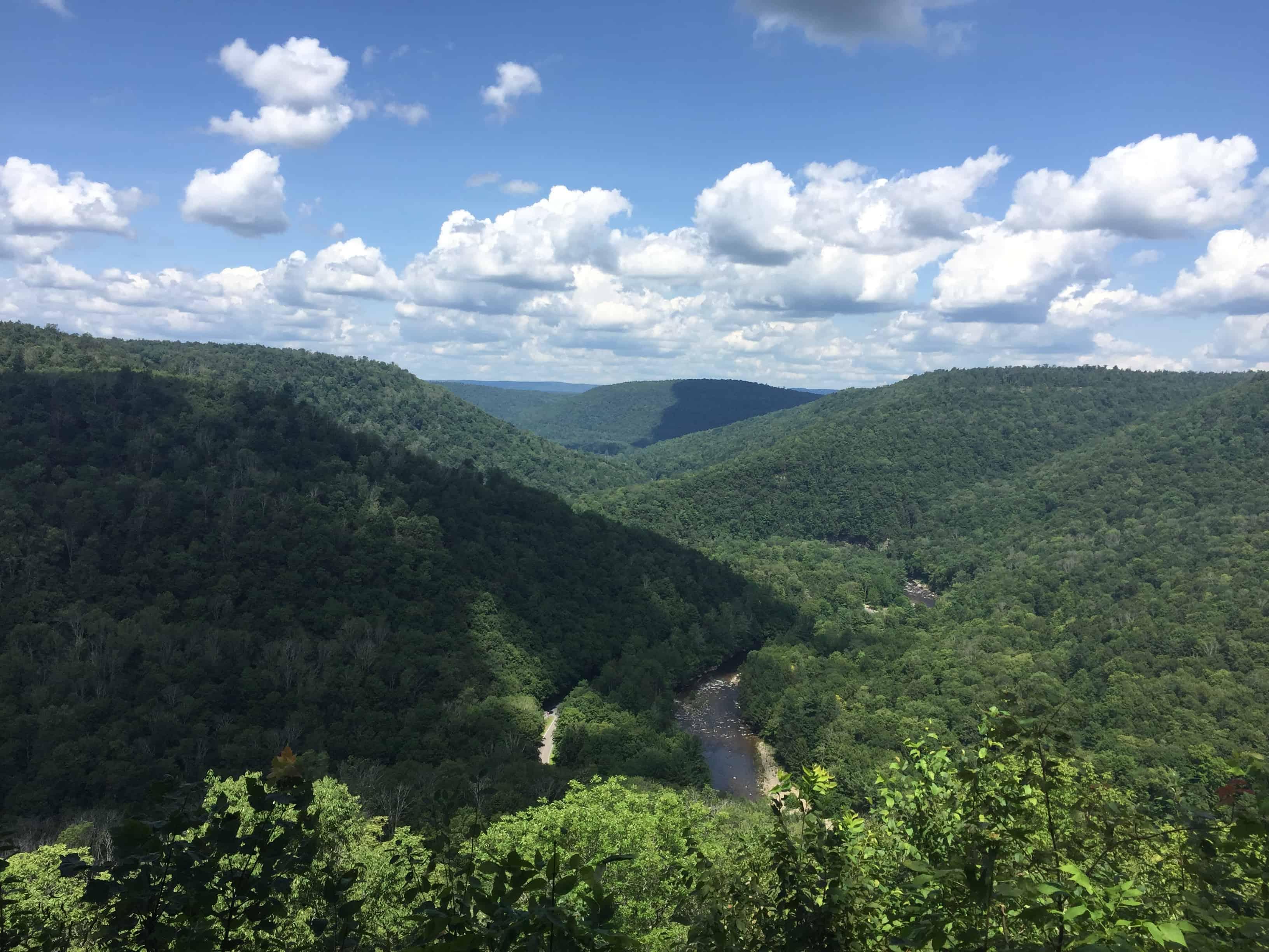 worlds end state park pennsylvania landscape