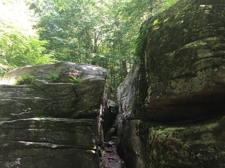 worlds end state park rock garden 2