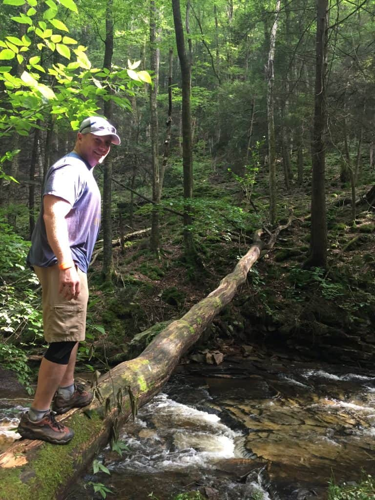 Trip Report: Worlds End State Park in Pennsylvania - Road