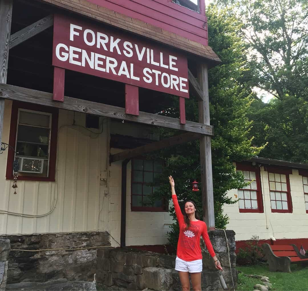 forksville general store to stock up on supplies