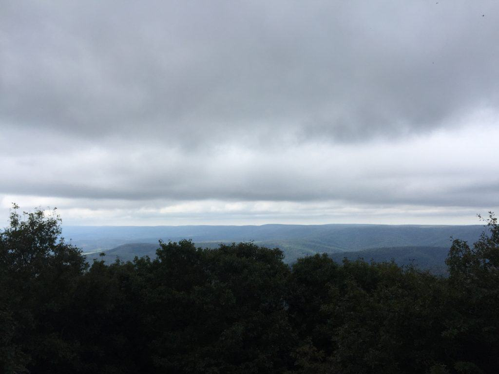 blue knob state park lookout loop