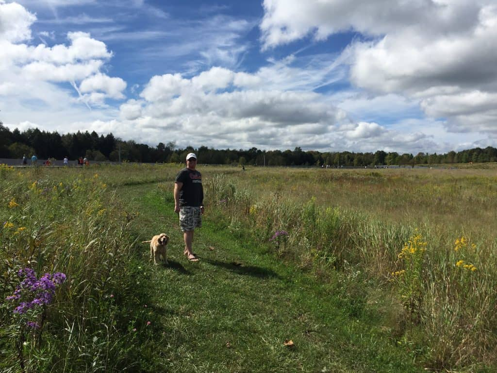 flight 93 memorial dog friendly trail