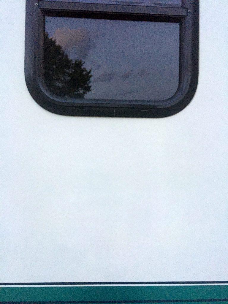 rv black streak cleaner side window after