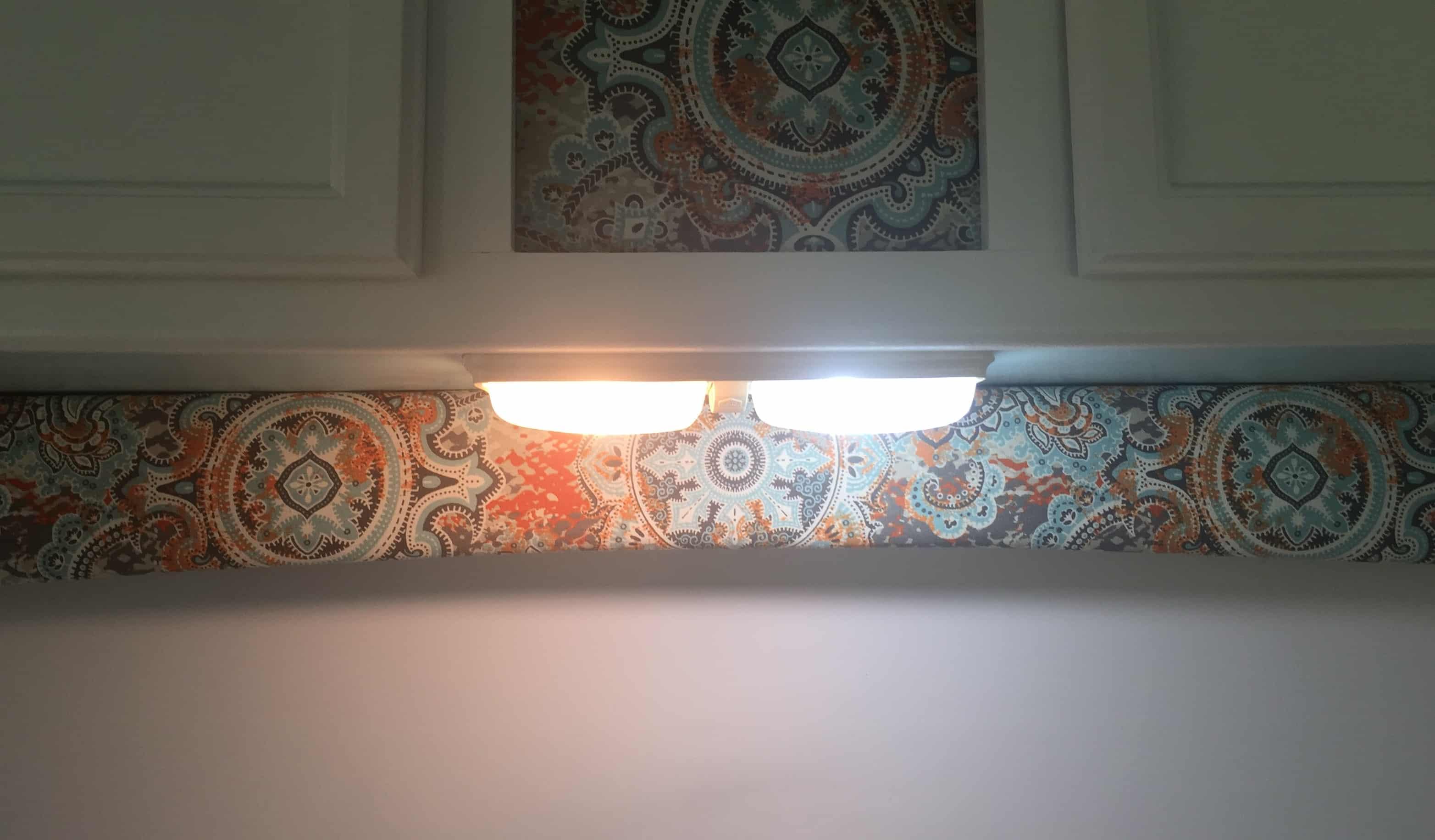 rv interior lightbulbs old next to new