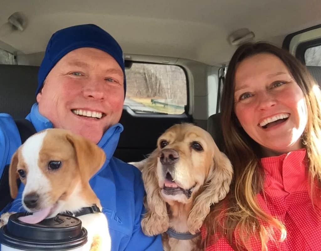 Fam Selfie with Hazel & Franklin