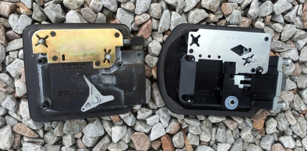 rv door lock set replacement