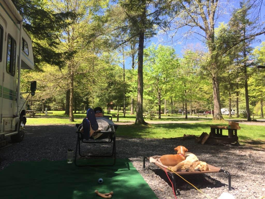 sizerville campground