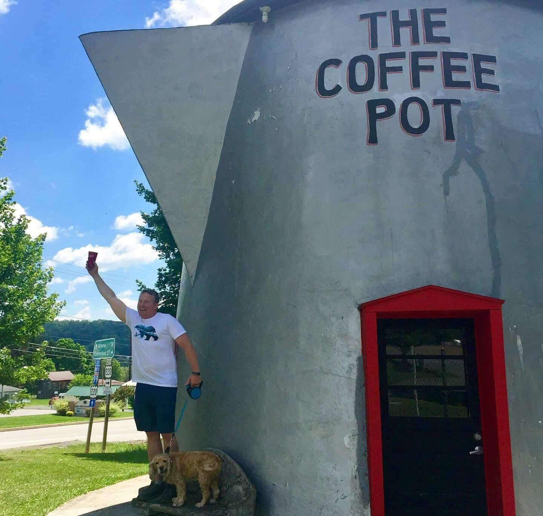 bedford coffee pot pour