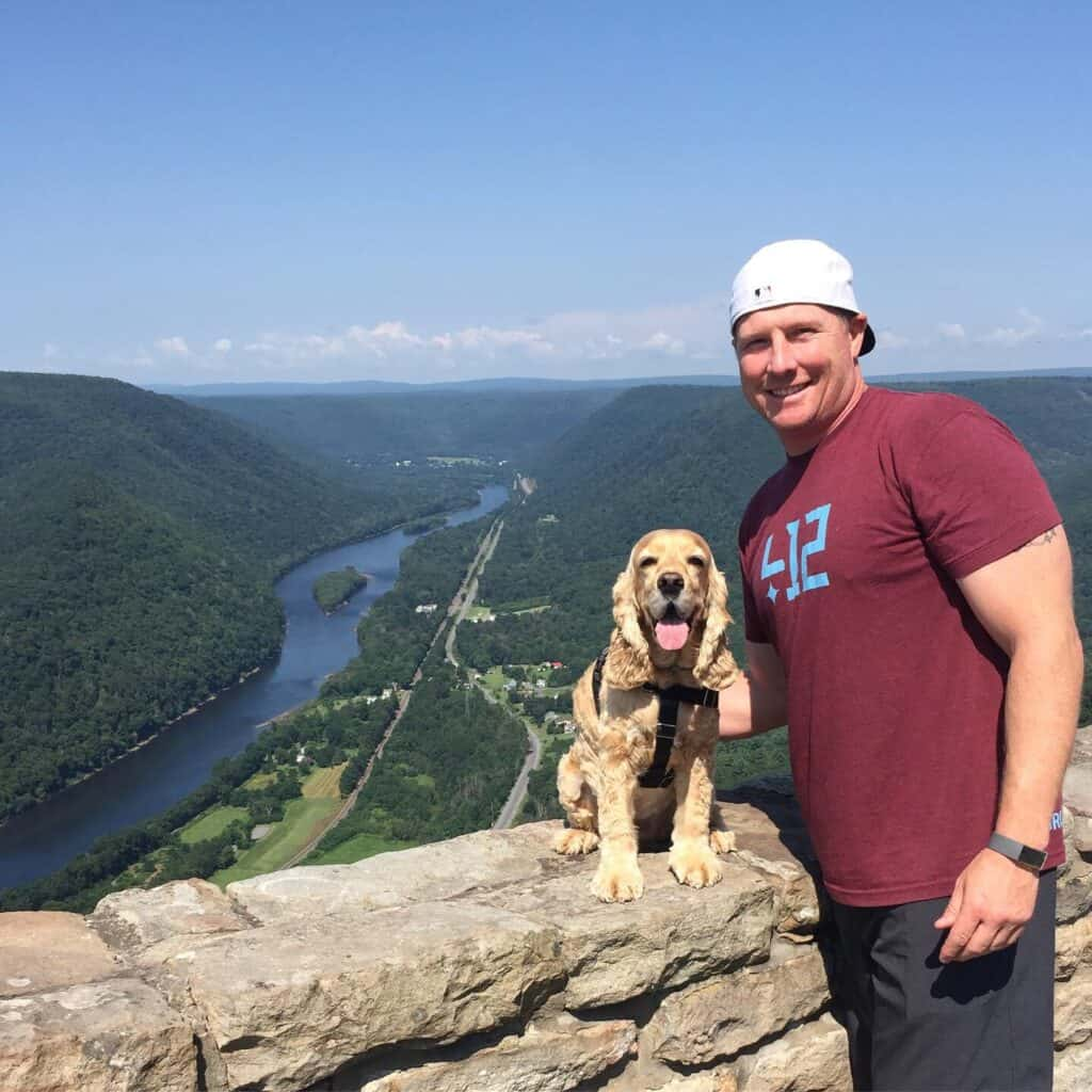 hyner view overlook with franklin