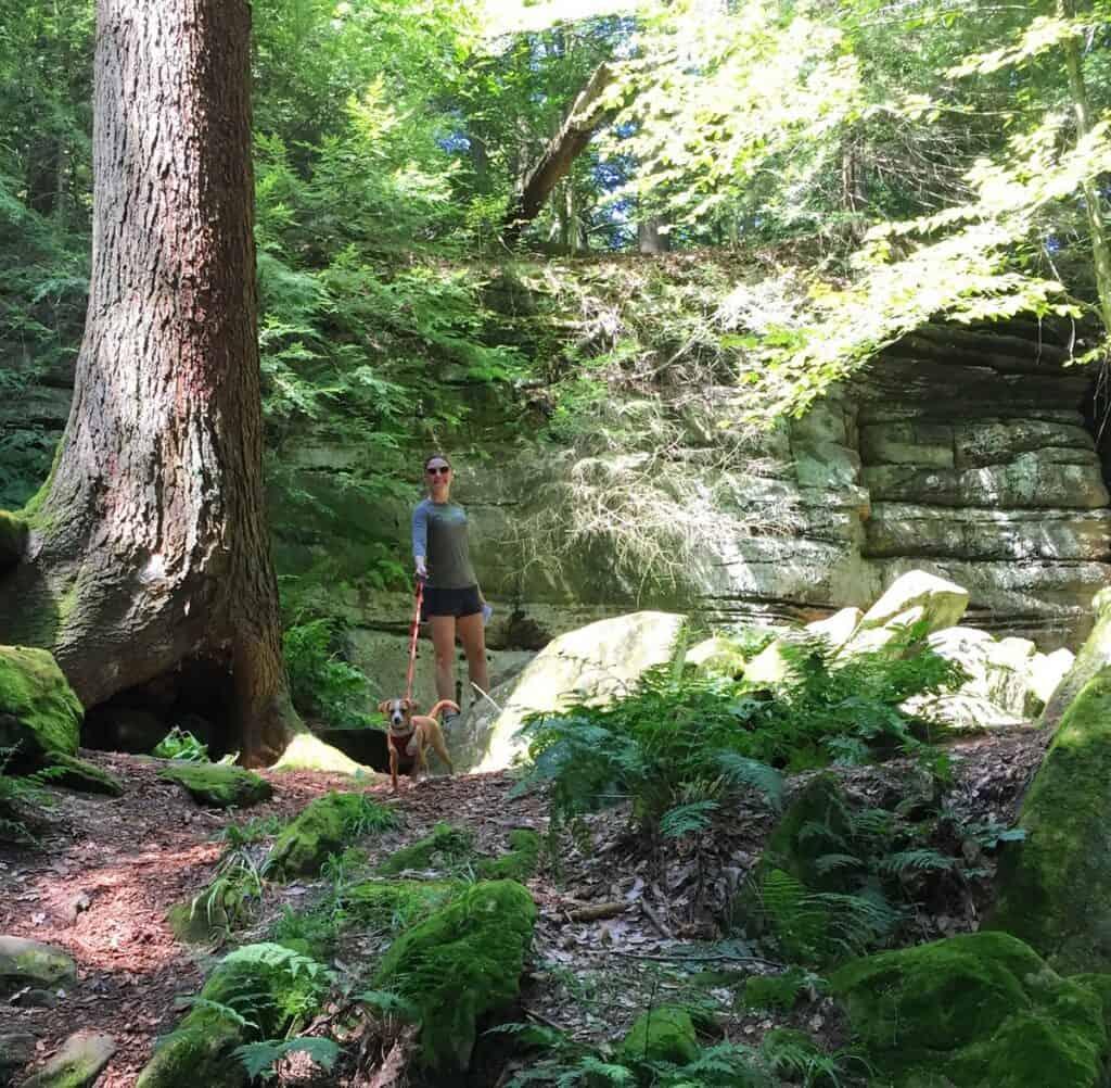 cuyahoga valley national park ledges trail and hazel