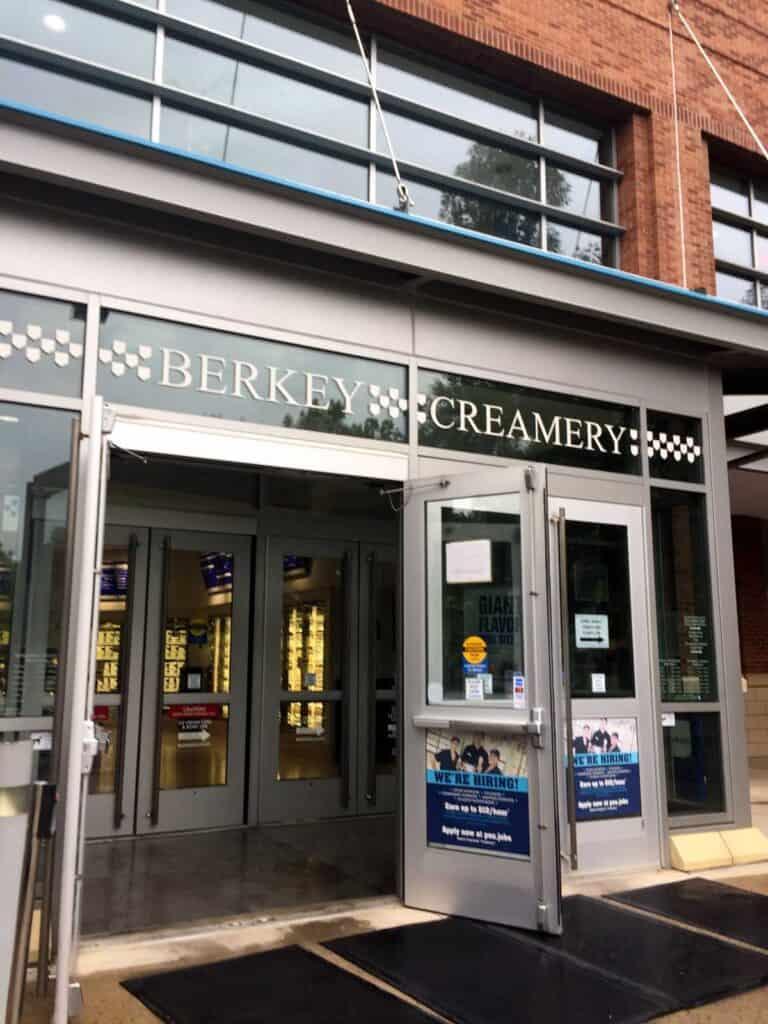 penn state berkey creamery entrance