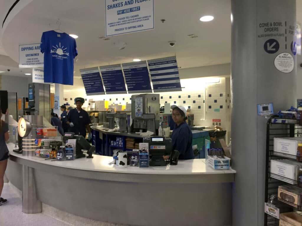 penn state berkey creamery counter
