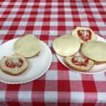 easy campfire recipes - chicken parm burgers