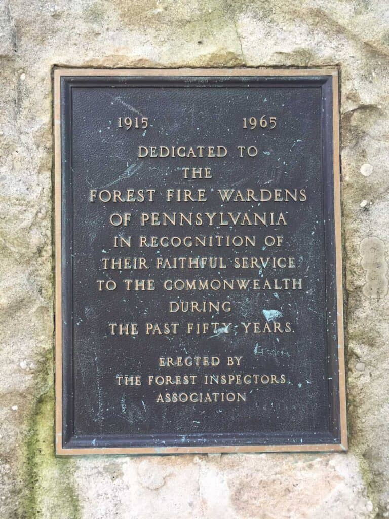 pa fire wardens memorial
