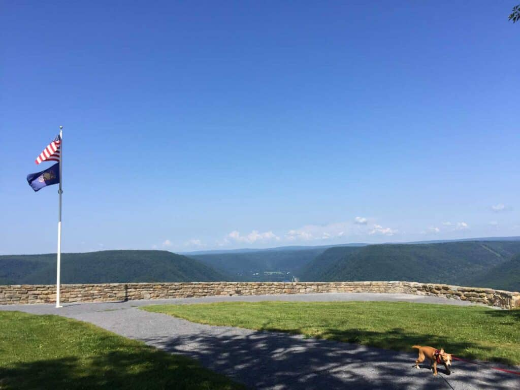 hyner run state park scenic overlook