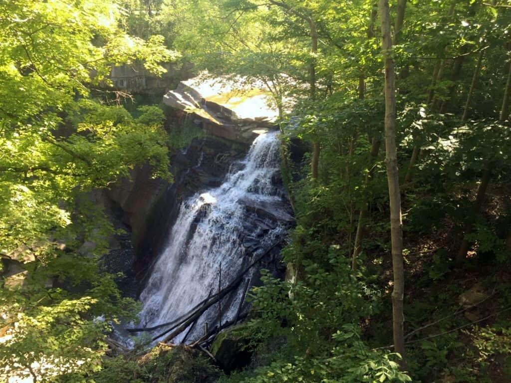 Cuyahoga Valley National Park Brandywine Falls