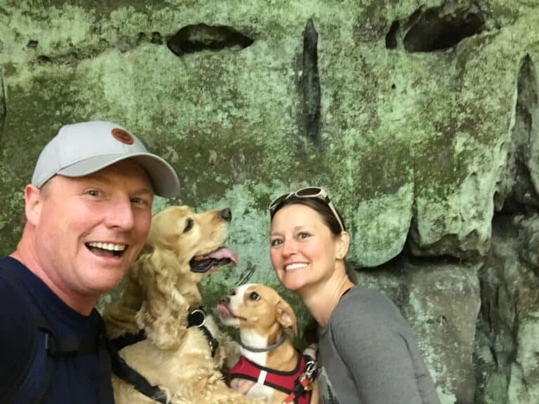 Cuyahoga Valley National Park Ledges selfie