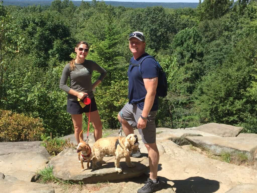 Cuyahoga Valley National Park scenic overlook with Franklin