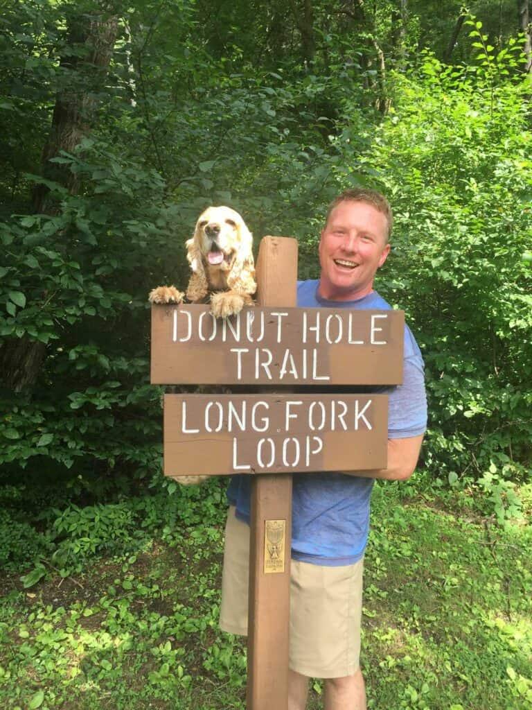 long fork loop trail head