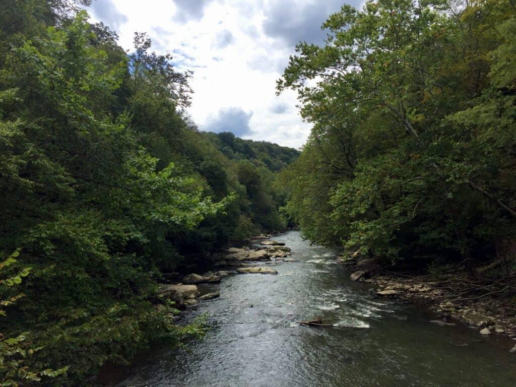 slippery rock creek gorge