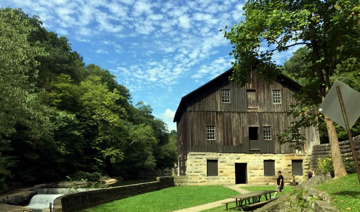 mcconnells mill state park mill and falls