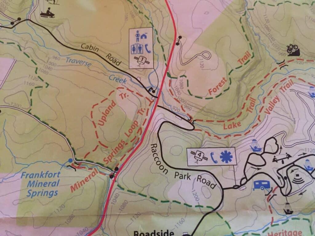 frankfurt mineral springs trail map