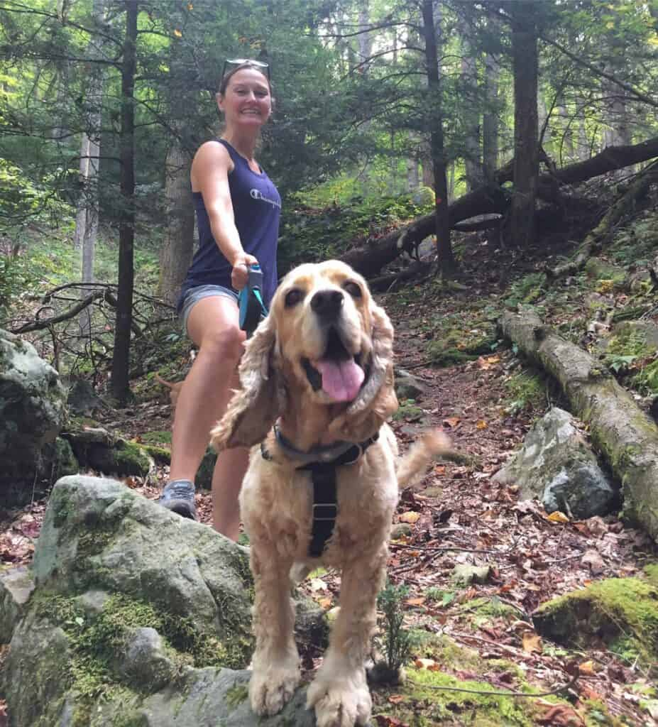 natures rock garden trail with franklin