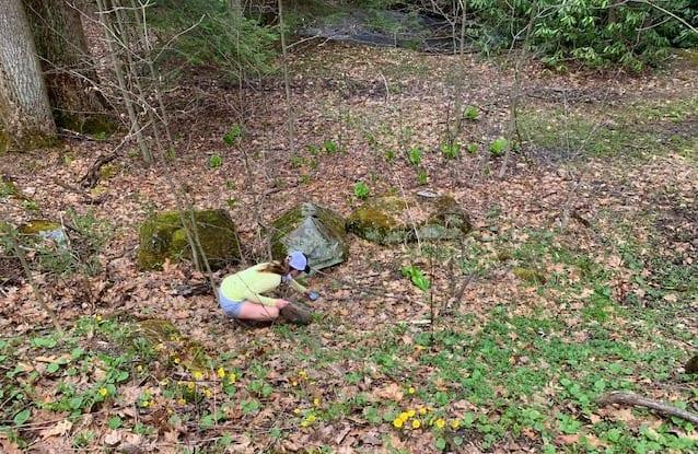 Kooser State Park litter gitting