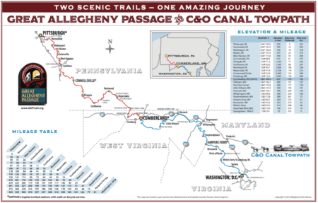 gap trail map