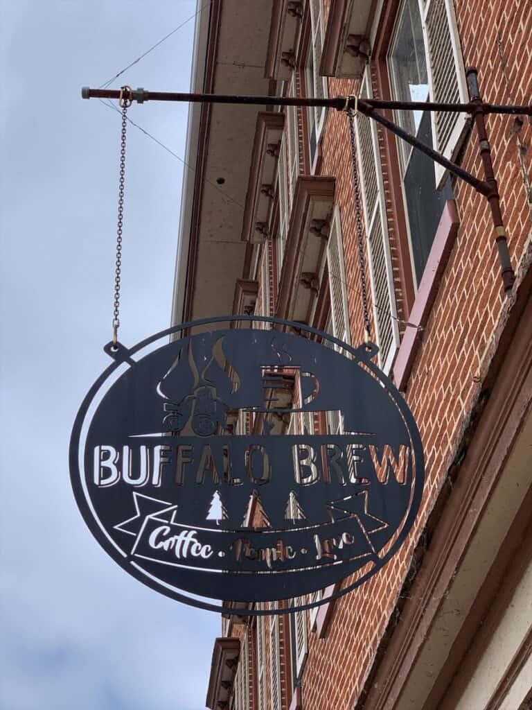 buffalo brew sign