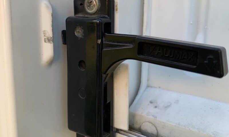 rv screen door rattle before