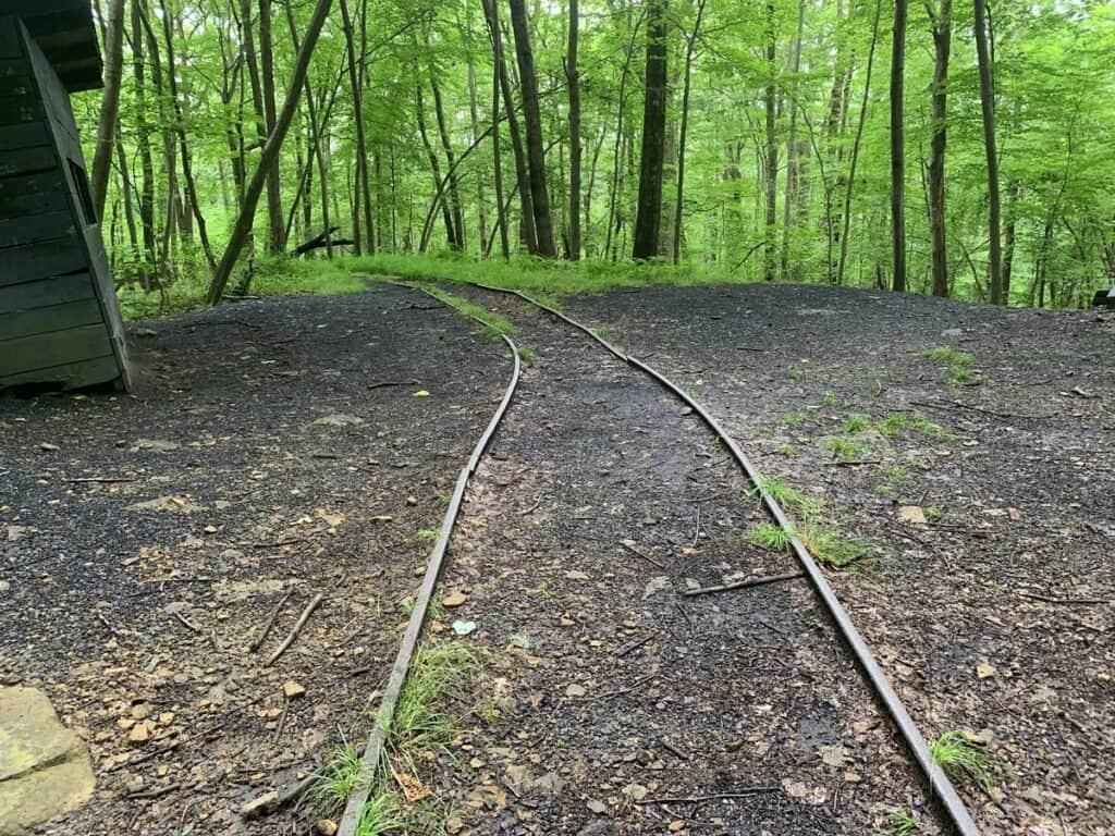 deep creek lake state park brant mine tracks
