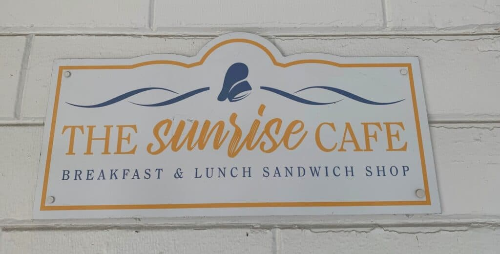 the sunrise cafe in historic carlilse